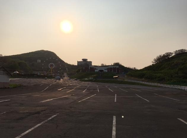 水族館 駐車場