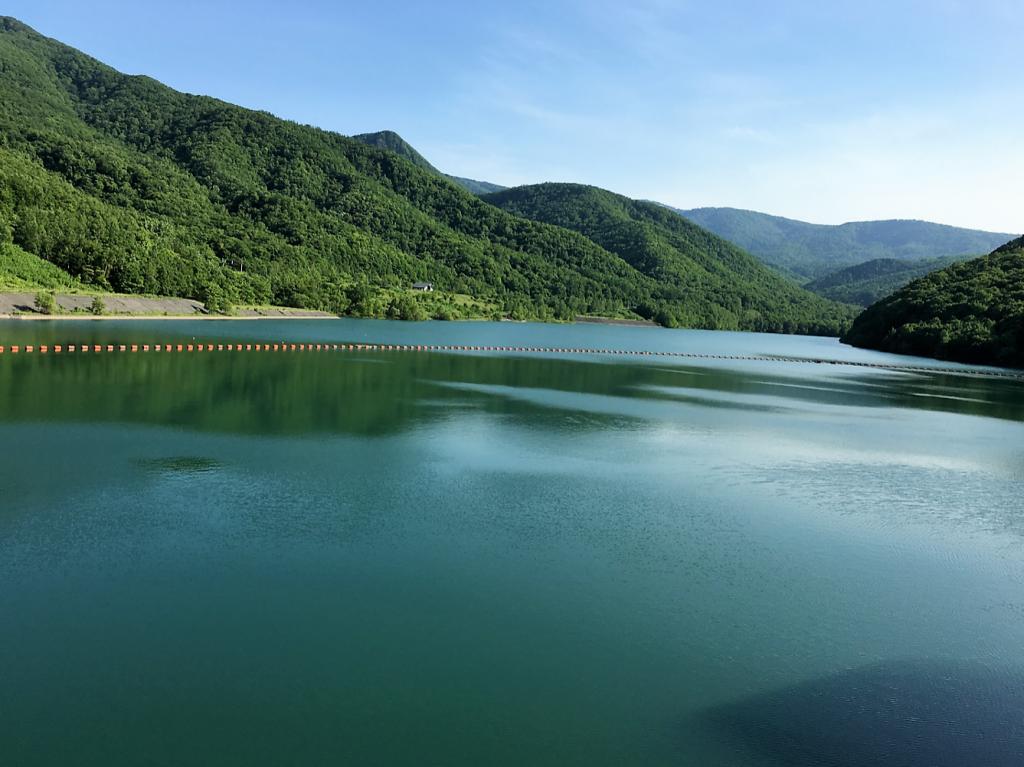朝里ダム オタルナイ湖