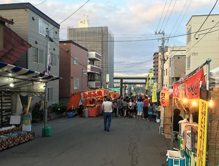 小樽 竜宮神社 祭り