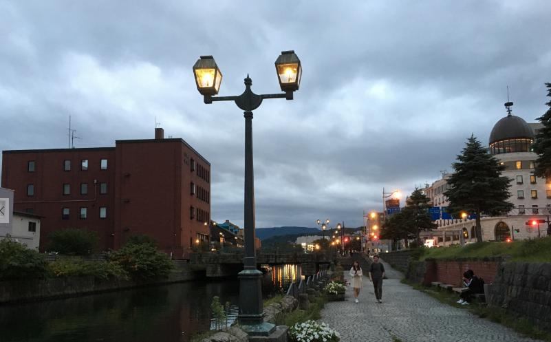 小樽運河 写真