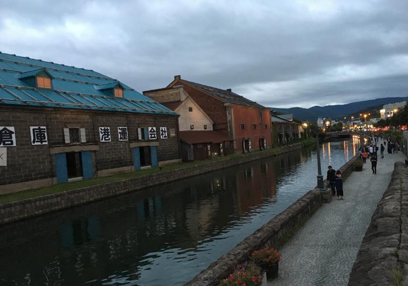 北日本倉庫 小樽 写真