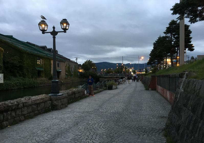 小樽運河 黄昏