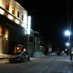 第20回小樽雪あかりの路2018の会場外すぐそこ。