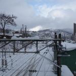 小樽駅を跨線橋から