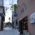 小樽寿司屋通り横の路地