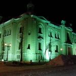 旧日本銀行小樽支店の冬の夜